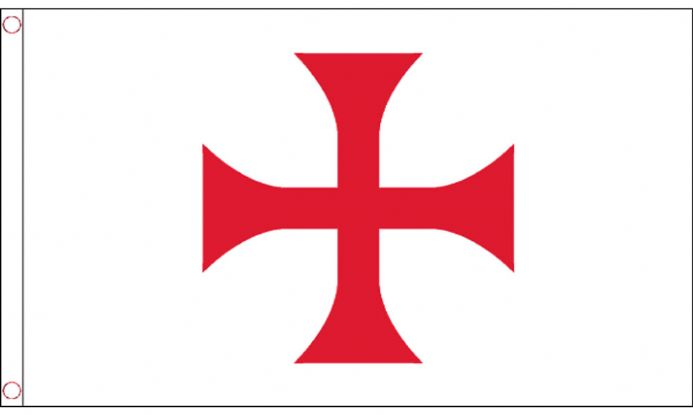 Knights Templar Red Cross Flag